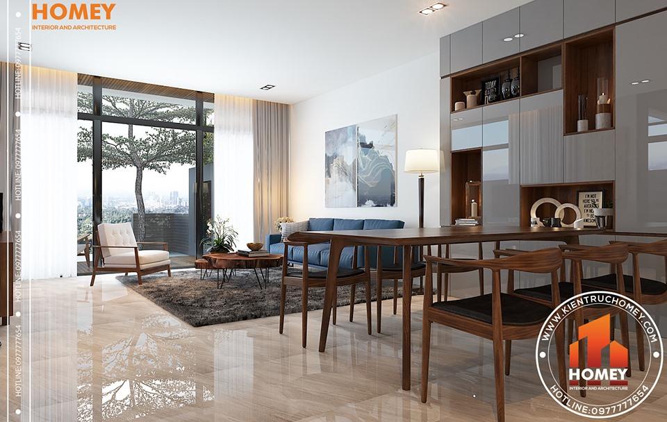 64488650 886999965025531 3860701155541647360 n Giải pháp thiết kế nội thất chung cư 70m2 cho gia đình trẻ