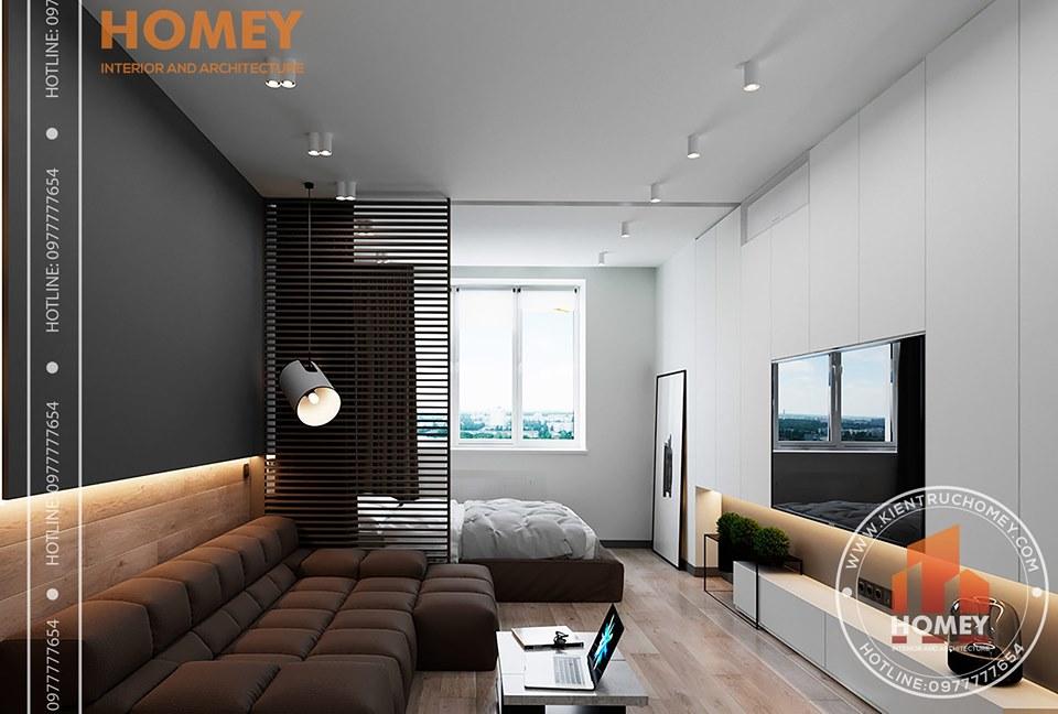 chung cư Giải pháp thiết kế nội thất chung cư 70m2 cho gia đình trẻ