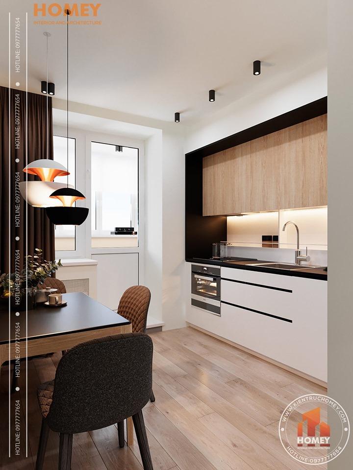 nội thât chung cư Gợi ý giải pháp thiết kế nội thất nhà bếp đẹp và sáng tạo