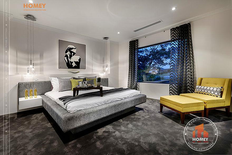 Biệt thự hiện đại 4 tầng - TP. Hồ Chí Minh - phòng ngủ master