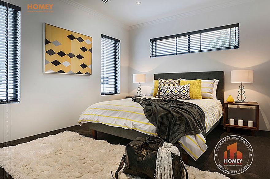 Biệt thự hiện đại 4 tầng - TP. Hồ Chí Minh - phòng ngủ nhỏ
