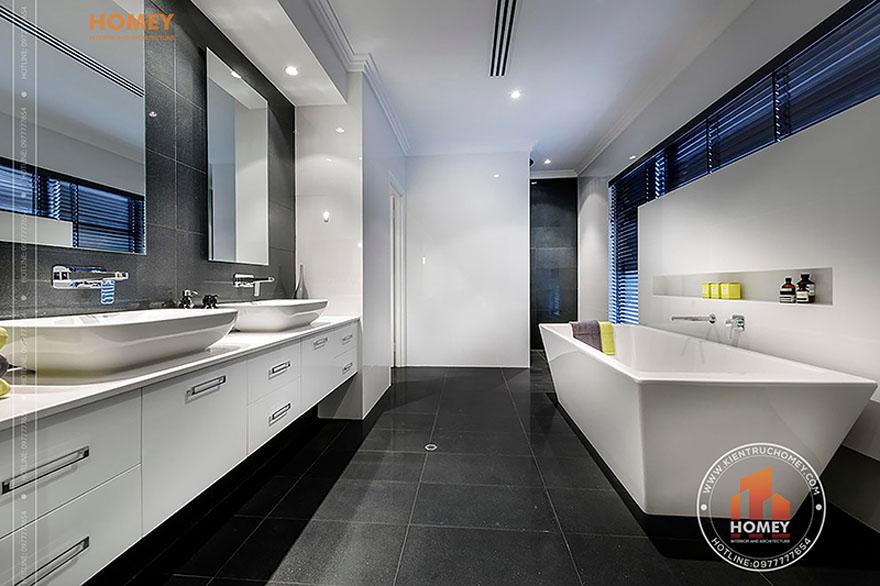 Biệt thự hiện đại 4 tầng - TP. Hồ Chí Minh - phòng tắm master