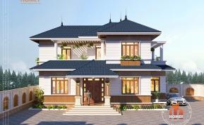 Biệt thự 2 tầng mái Thái