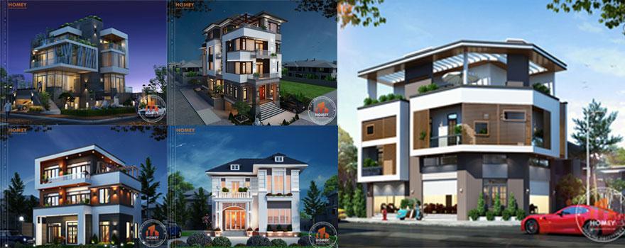 Homey tư vấn thiết kế biệt thự chuyên nghiệp nhất Việt Nam