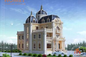 Lâu đài 5 tầng cổ điển hoành tráng tại Nam Định