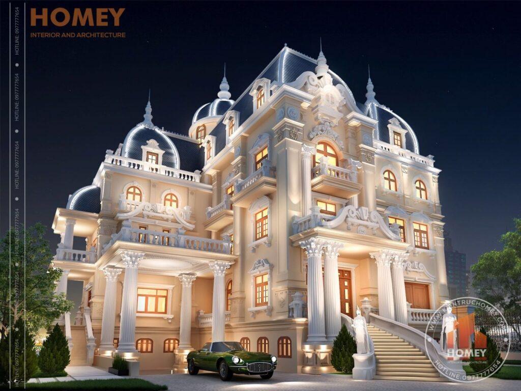 Lâu đài đẹp nguy nga tại Nam Định