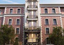 nhà phố 7 tầng tân cổ điển mặt tiền 4m