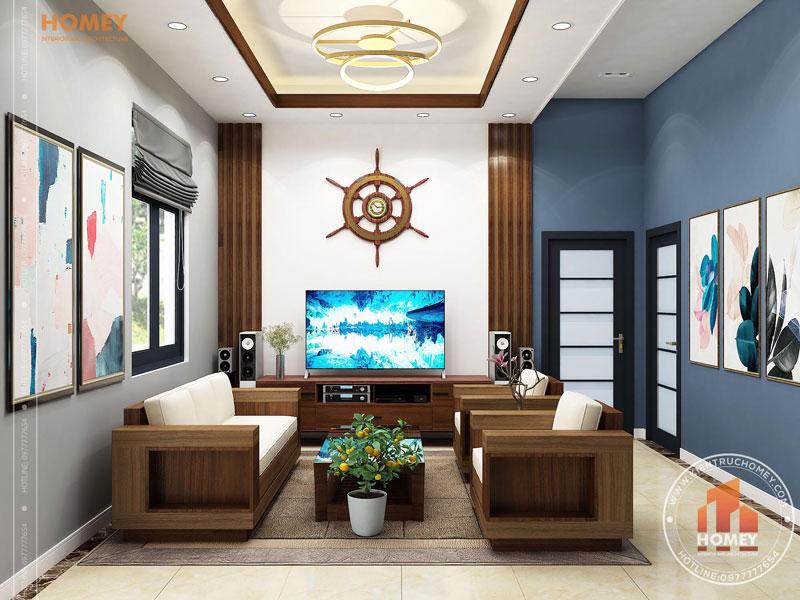Nội thất phòng khách hiện đại 2