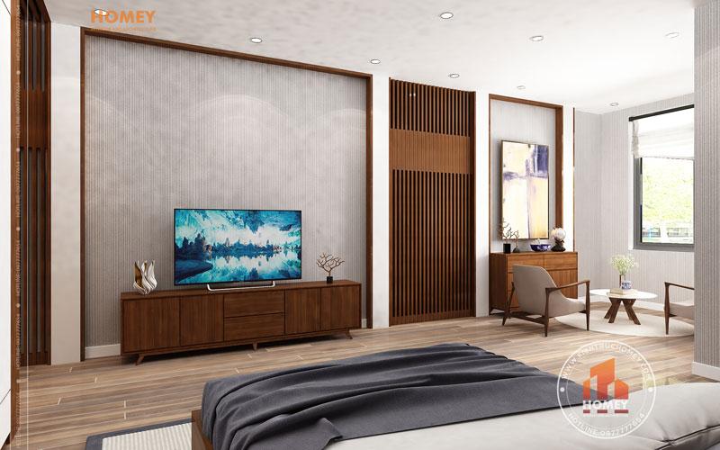 Nội thất phòng ngủ bố mẹ hiện đại 2
