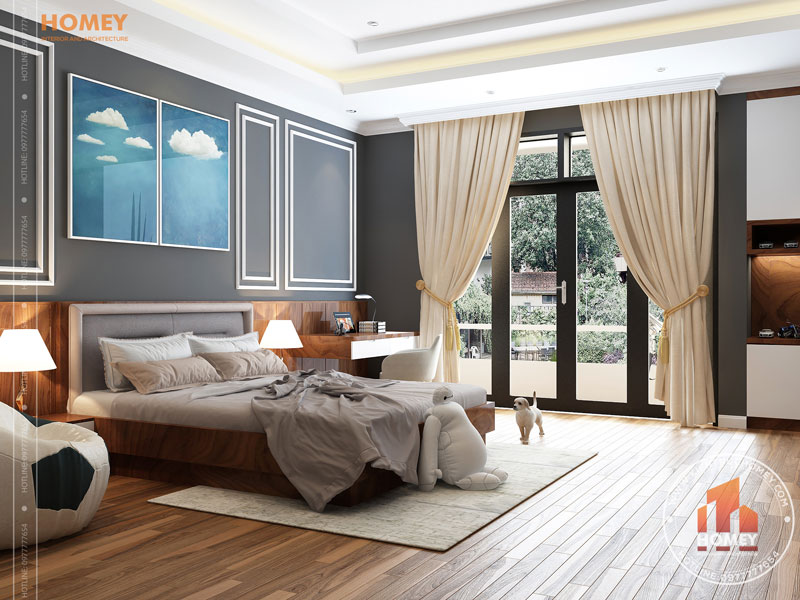 Nội thất phòng ngủ trẻ em hiện đại 2