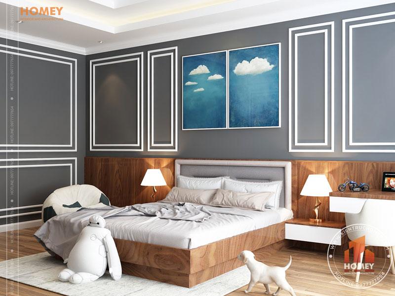 Nội thất phòng ngủ trẻ em hiện đại 3