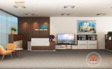 Nội thất văn phòng hiện đại Bắc Ninh