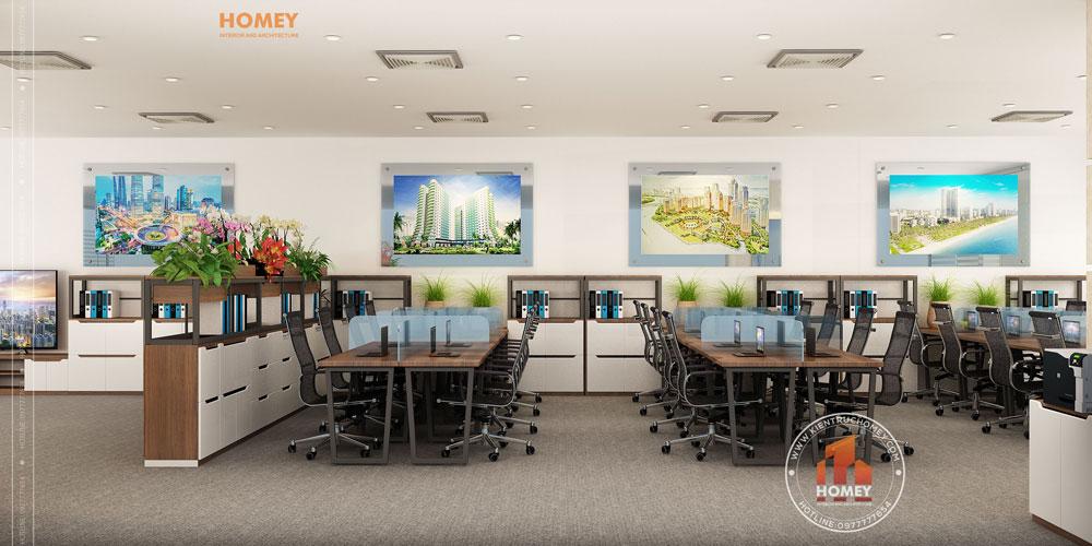 Nội thất văn phòng hiện đại Bắc Ninh 3