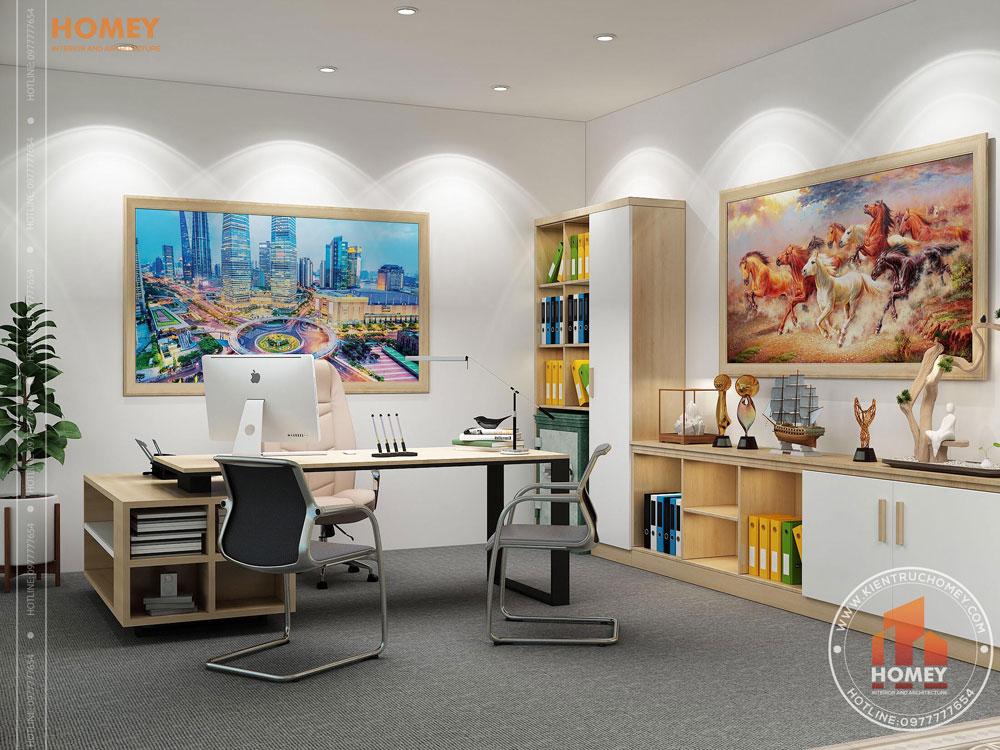 Nội thất văn phòng hiện đại Bắc Ninh 7