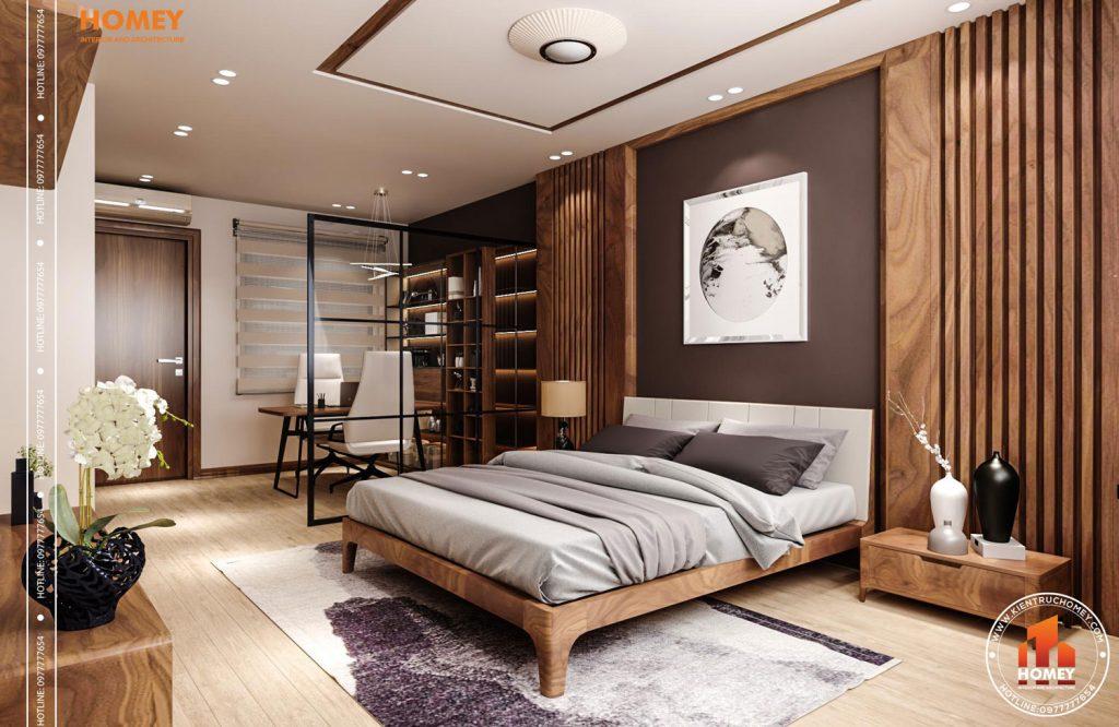 Lô phố nội thất phòng ngủ master hiện đại-2