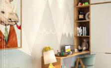 Lô phố nội thất phòng ngủ nhỏ hiện đại-4