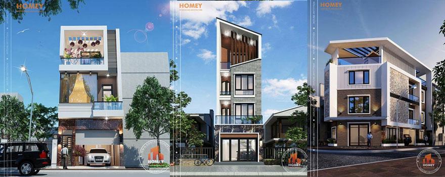 Tư vấn thiết kế nhà phố - Kiến trúc Homey