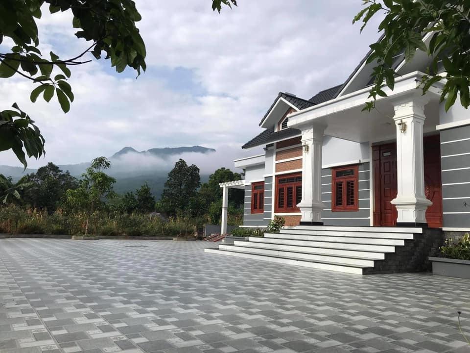 Biệt thự 1 tầng mái Thái hiện đại rộng rãi
