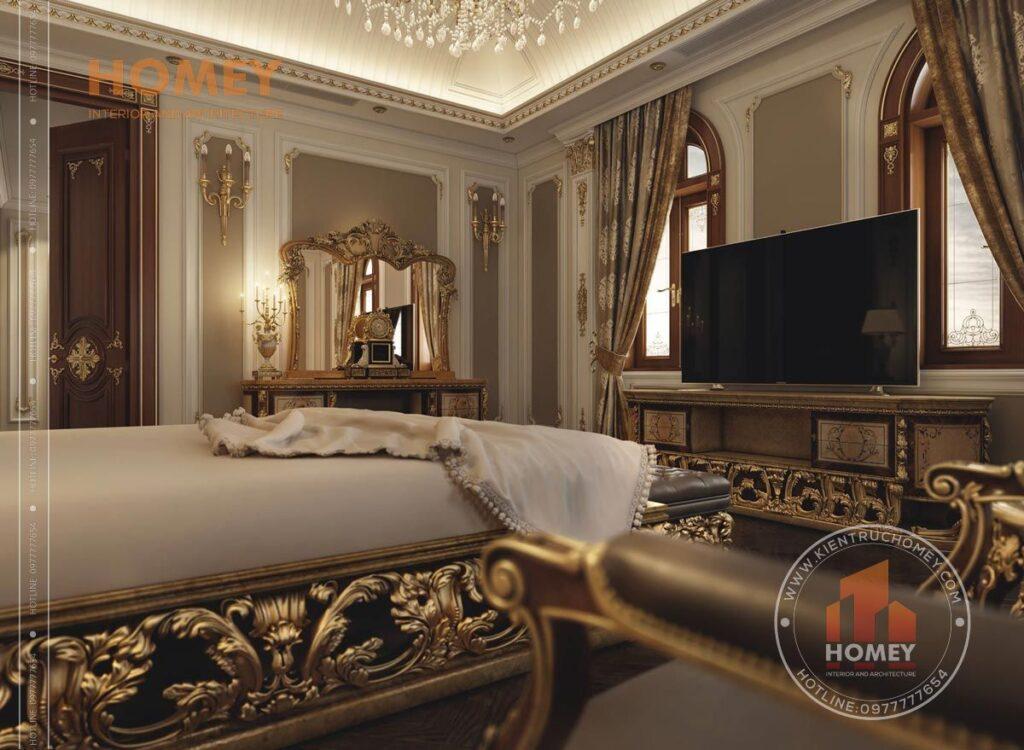 nội thất biệt thự phòng ngủ master