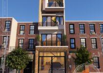 Nhà phố 4 tầng gara oto 4m7x17m