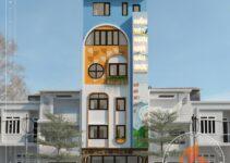 Nhà phố 6 tầng kinh doanh 6,7mx17m