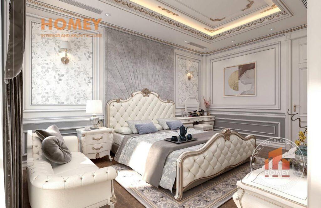 nội thất phòng ngủ tân cổ điển sang trọng