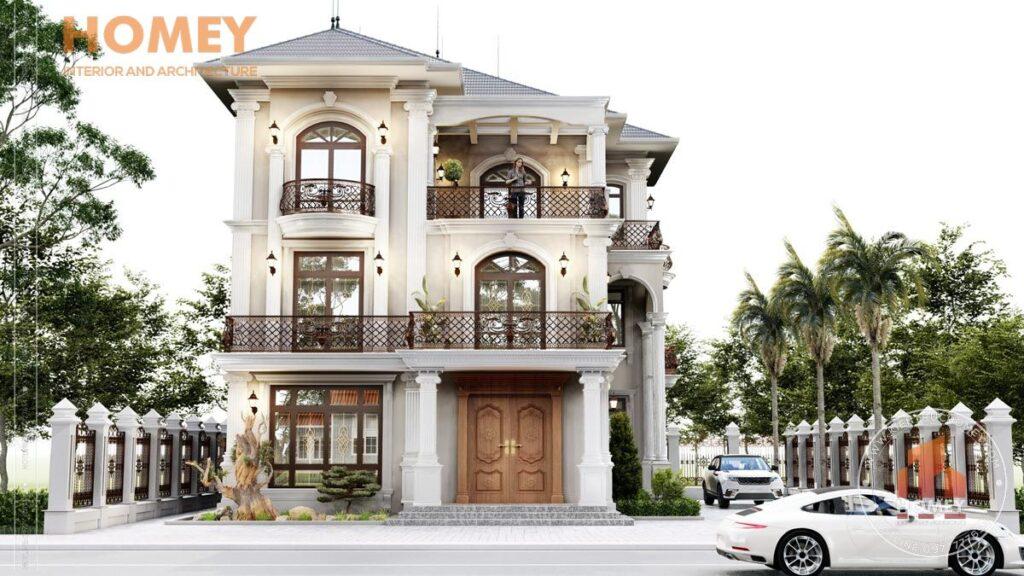 Gia xay biet thu kieu phap bao nhieu Tìm hiểu về giá xây biệt thự kiểu pháp là bao nhiêu?