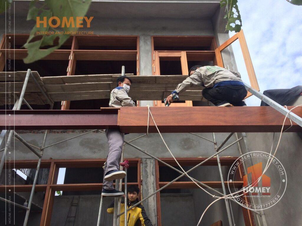 giá nhan công xây dựng nhà biệt thự